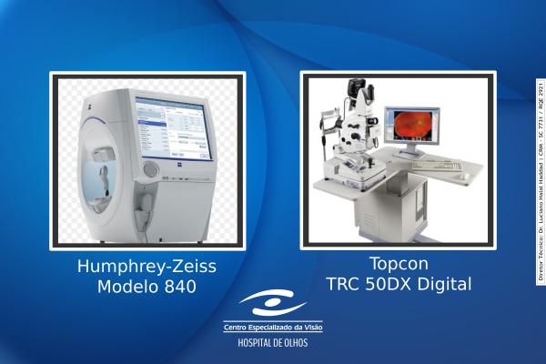 Centro Especializado da visão adquire novos equipamentos no SIMASP 2017
