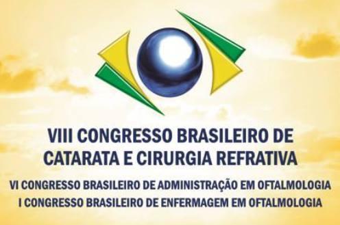 Dr. Luciano Halal Haddad Palestrou no  VIII Congresso Brasileiro de Catarata e Refrativa