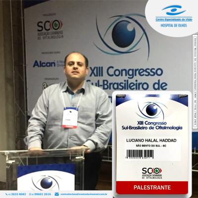Oftalmologistas do Centro da Visão Palestram no 13º Congresso Sul-Brasileiro de Oftalmologia